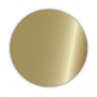 Geschenketiketten E-658, gold glänzend 30 mm - 500 Stück