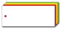 Kolli-Anhänger, Kunststoff blanko AEK 100-40 - 250 Stück