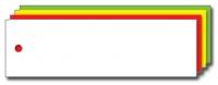 Kolli-Anhänger, Kunststoff blanko AEK 100-30 - 250 Stück