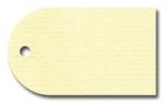 Anhängeetiketten, creme-gerippt, blanko AD-16 - 500 Stück