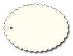 Anhängeetiketten, antique-gerippt, blanko AD-23 - 500 Stück