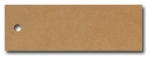 Anhängeetiketten, braun-natur, blanko AE-75-25 - 500 Stück