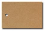 Anhängeetiketten, braun-natur, blanko AE-60-40 - 500 Stück