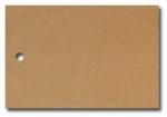 Anhängeetiketten, braun-natur, blanko AE-75-50 - 500 Stück