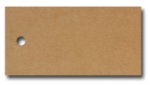 Anhängeetiketten, braun-natur, blanko AE-60-30 - 500 Stück