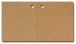 Anhängeetiketten, braun-natur, blanko AF-81 - 500 Stück