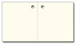 Anhängeetiketten, antique-gerippt, blanko AF-81 - 500 Stück