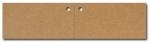 Anhängeetiketten, braun-natur, blanko AN-82 - 500 Stück