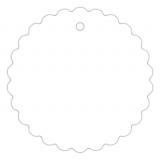 Anhängeetiketten, blanko AD-22 - 500 Stück