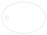 Anhängeetiketten, blanko AD-11 - 500 Stück