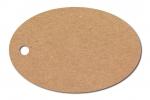 Anhängeetiketten, braun-natur, blanko AC-13 - 500 Stück