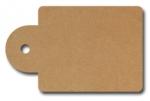 Anhängeetiketten, braun-natur, blanko AD-10 - 500 Stück
