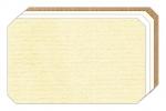 LD-132 Etiketten o. Druck auf selbstklebendem Haftpapier