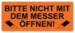 Warnetiketten W-038 - 65 x 27 mm - Bitte nicht.. - 500 Stück