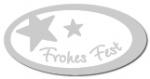 Geschenketiketten E-811b Frohes Fest weiß, Prägung in silber