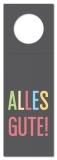 Flaschenanhänger Alles Gute! SP-199 - 20 Stück
