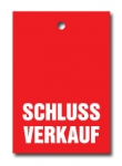 Aktionsetiketten LD 15-017 - Schlussverkauf - 500 Stück