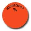 Aktionsetiketten W-017 rund mit Druck - Reduziert %