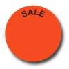 Aktionsetiketten W-013 rund mit Druck - Sale