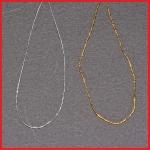 Gold-/Silberelastik Länge ca. 250 mm - VPE = 1.000 Stück