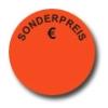 Aktionsetiketten W-015 rund mit Druck - Sonderpreis €