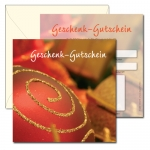 Geschenk-Gutscheine GG-216, beidseitig bedruckte Karte