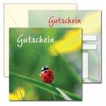 Geschenk-Gutscheine GG-203, beidseitig bedruckte Karte