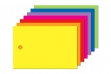Anhängeetiketten farbig, blanko AEB-60-40 - 500 Stück