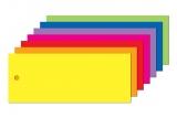Anhängeetiketten farbig, blanko AEB-100-40 - 500 Stück