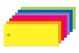 Anhängeetiketten farbig, blanko AEB-75-30 - 500 Stück