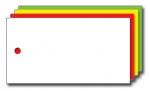 Kolli-Anhänger, Kunststoff blanko AEK 75-40 - 250 Stück