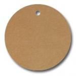 Anhängeetiketten, braun-natur, blanko AD-21 - 500 Stück