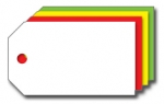 Kolli-Anhänger, Kunststoff blanko ADK 19 - 250 Stück